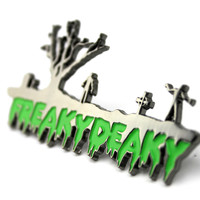 The 2015 Official Freaky Deaky 'Living Dead' Hat Pin