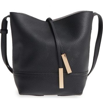 Street Level Faux Leather Bucket Bag   Nordstrom