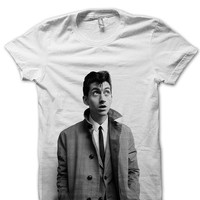 Alex Turner T-Shirt - Alex Turner Photo t-shirt - Alex Turnert Fashion - Alex Turner Tee - Alex Turner Clothes - Tour Shirt FAN0007
