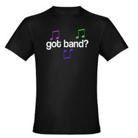 Got Band Men's Fitted T-Shirt (dark)> Got Band T-shirts And Gifts> www.cafepress.com/milestonesmusic - Music Tshirts