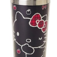Hello Kitty Tartan Stainless Steel Mug