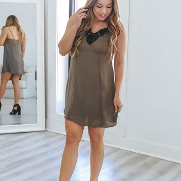 Moving Fast Slip Dress