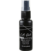 L.A. Girl PRO Setting High Definition Matte Setting Spray