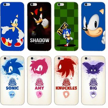 Sonic the Hedgehog silicone TPU Soft phone case For LG G2 G3 mini spirit G4 G5 G6 K4 K7 K8 K10 2017 V10 V20