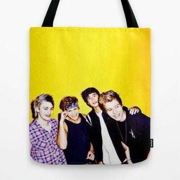 5sos Tote Bag by kikabarros