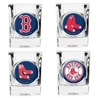 MLB Boston Red Sox Collector's Shot Glasses (Set of 4)