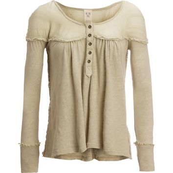 Down Under Henley Top - Women's