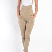 Plain Twill Overall
