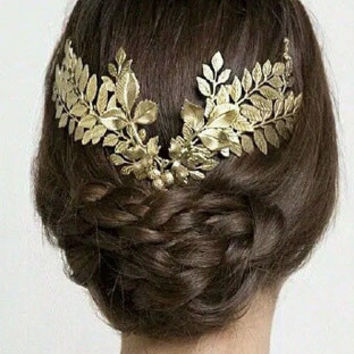 Grecian Leaf Crown