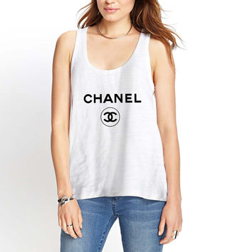 Chanel Logo Womens Tank Top *
