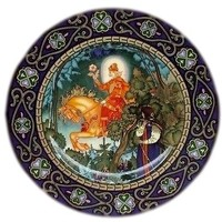 Villeroy & Boch Russian Fairy Tales The Red Knight Plate