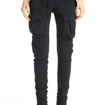 Haider Ackermann Cotton & Stretch Wool Jogger Pants | Nordstrom