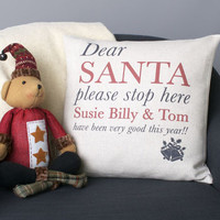 Dear Santa Cushion Cover