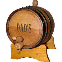 A Solid American Oak Barrel Makes the Best Spigot Beverage Dispenser!