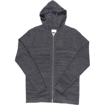 ourCaste Smith Knit Sweater - Men's Navy Grey,