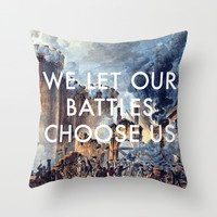 Glory of Storming the Bastille Throw Pillow by Lorde Art History