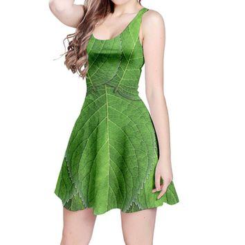 Tinkerbell Peter Pan Inspired Sleeveless Dress