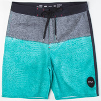 Rvca Buoy Mens Boardshorts Black/Blue  In Sizes