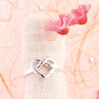 Heart Knot Ring