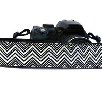 dSLR Camera Strap. Chevron Camera Strap. Camera accessories