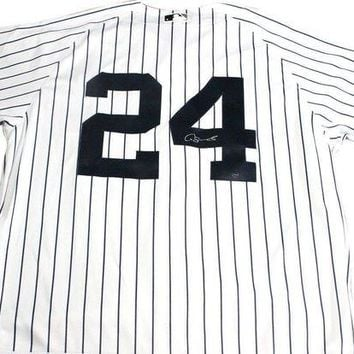 ONETOW Gary Sanchez Signed Autographed New York Yankees Baseball Jersey (Steiner COA)