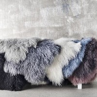 Tibetan Sheepskin Rug Assorted Colours
