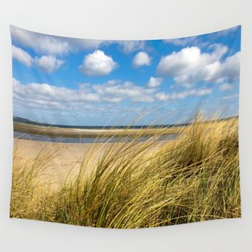 Beach whispers Wall Tapestry by Tanja Riedel