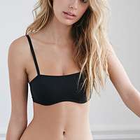 Looped-Back Microfiber Bralette