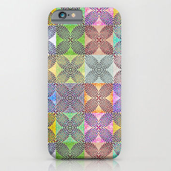 iPhone 6 Case - Colorful Exes - geometric iPhone case, unique iPhone case, hipster iphone case, iphone 6 case, iPhone 6 Plus Case