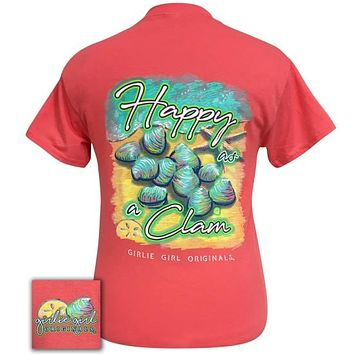 Girlie Girl Originals Happy Clam T-Shirt