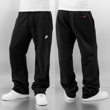 Nike AW77 OH Fleece Pants Black/White von Def-Shop.com
