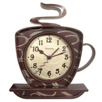 Westclox Coffee Cup Wall Clock - Walmart.com