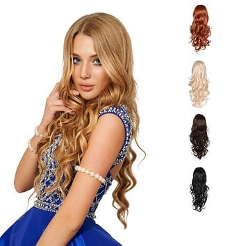 Full Head Beautiful Long Curly Wave Stunning Wig Charming Curly Costume Wig