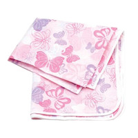 Baby Waterproof Playmats/Placemat Outdoor Activity Mat Butterfly-106*106*0.1Cm