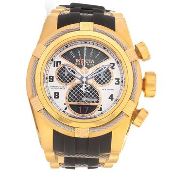 Invicta 16317 Men's Bolt Zeus Reserve Yellow Gold Steel & Rubber Strap Chrono Dive Watch