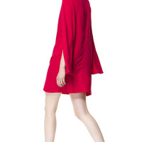 DRESS WITH CAPE SLEEVE - Dresses - Woman - ZARA Canada