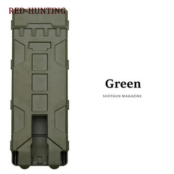 5 Color Hunting Ammo Bag 10 Rounds 12GA 12 Gauge Ammo Shells Shot gun Reload Magazine Pouches Molle Box