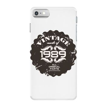 vintage made of 1989 all original parts iPhone 7 Case