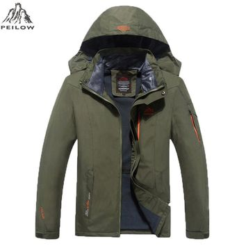 spring Male Jacket design Man's Waterproof Windproof Warm Coat Jacket Jacket Men Casual Jackets
