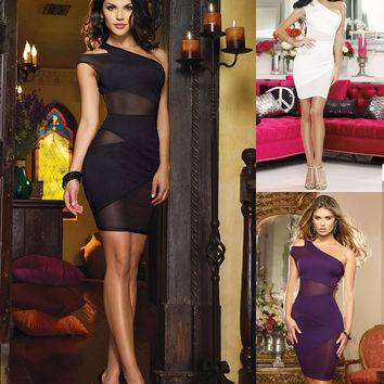 Women's Sexy Slim Party Dress Cocktail Party Clubwear = 4427497092