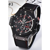 HUBLOT 2019 new fashion casual quartz watch waterproof watch #3