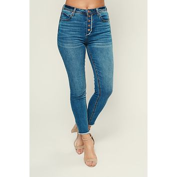 Beach Bum Five Button Jeans (Medium)