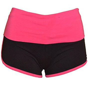 Sexy Mini Yoga Exercise Gym Workout Cotton Fitted Spandex Shorts