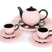 Mud Pie Perfectly Princess Tea Set