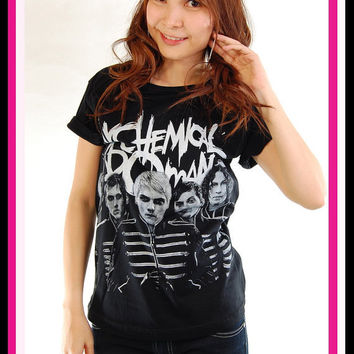 My Chemical Romance MCR Black Parade Rock T Shirt Tank Top Tunic Women S, M, L