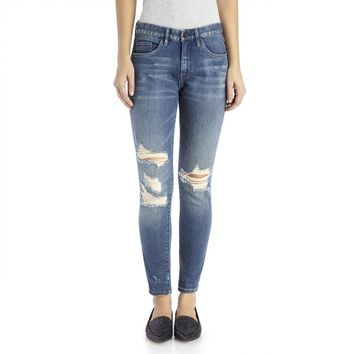 Blanknyc Diet Distressed Boyfriend Jeans