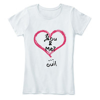 St Valentine Day Shirt Gift Love Heart I Love You More T-shirt Explanation Actually Tee T Lover Leter White Cotton