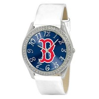 Boston Red Sox MLB Ladies Glitz Series Watch