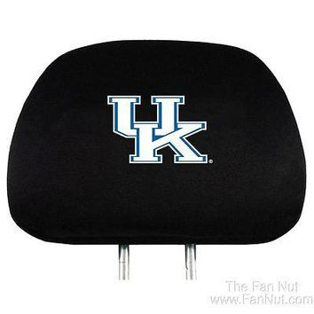 Kentucky Wildcats 2-pack Auto Head Rest Covers Cover Football PRO University of