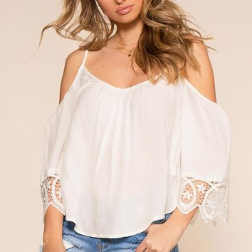 The Sweet Life Top - White